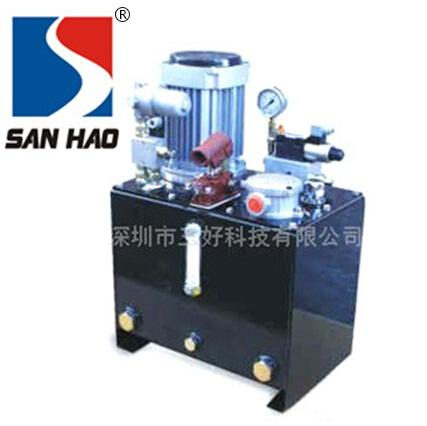 导轨式sheng降平台液压泵站