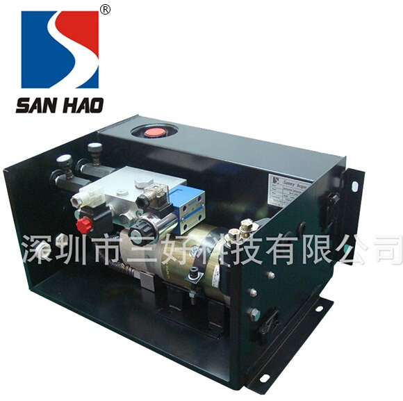 Hydraulic riveting machine is special hydraulic pump station