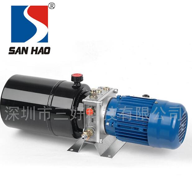 High power hydraulic pump station