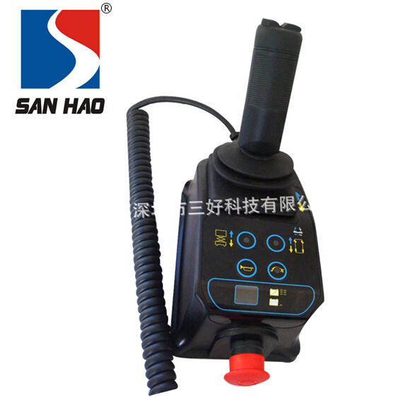 Self-contained high car special handle control system